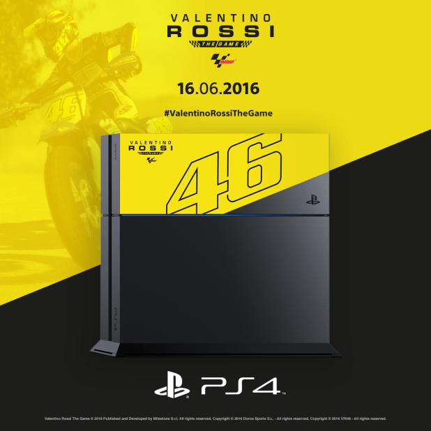 PS4 Limited Edition: Valentino Rossi