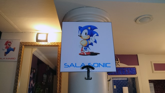 Games Technology Convention sala sonic
