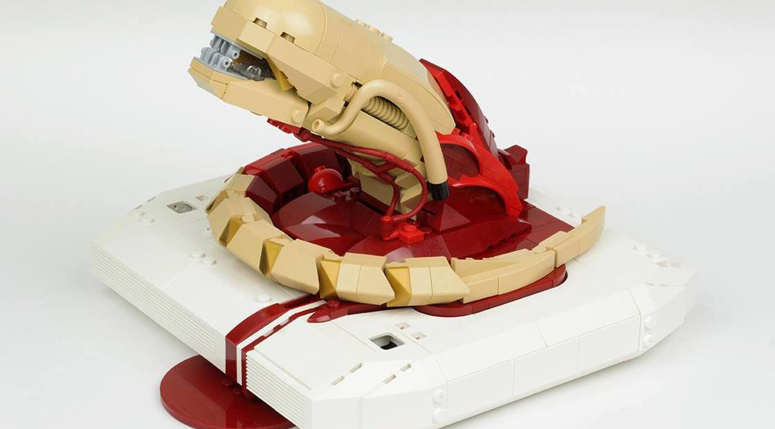 LEGO Alien Chestburster created by The Arvo Brothers - Time-Lapse