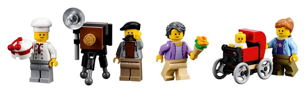 Qualche ora fa sono spuntate su internet le prime immagini ufficiali LEGO del nuovo modulare della linea Creator Expert