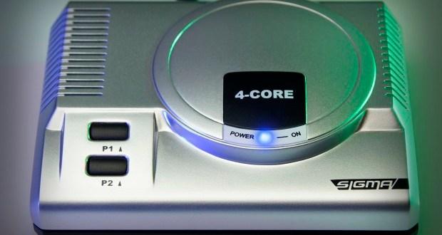 RetroEngine Sigma - Mini Console & Media Player