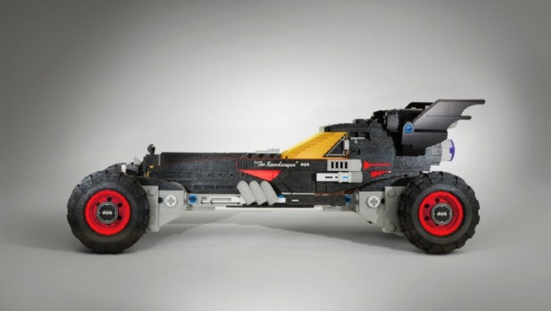 The LEGO Movie Batmobile a grandezza naturale