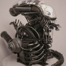 LEGO Xenomorph Bust MOC created by Blair Archer