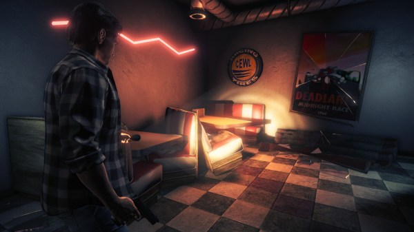 You should really pick up Alan Wake