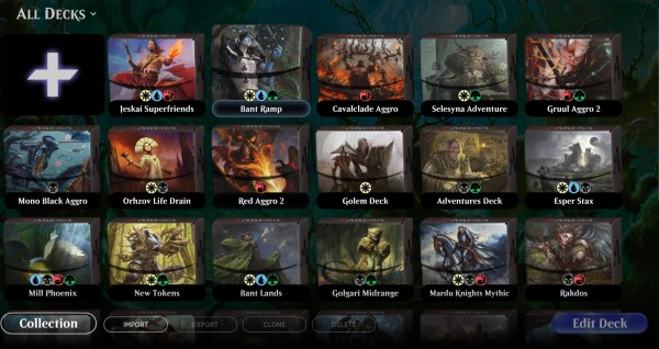 Magic: Arena now supports old cards with Historic, but Wizards is doing their best to hide it
