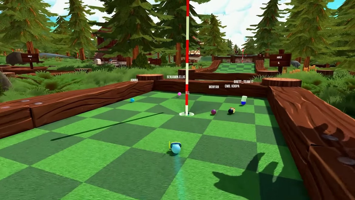 I'm weirdly pumped for Golf With Your Friends on Switch