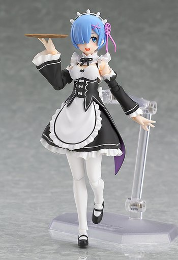 Featuring figma Re:Zero -Starting Life in Another World- Rem, figma, figurine, different types of anime figure
