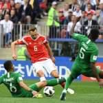 Mundial de Futbol: Rusia vence fácil a Arabia Saudita 5-0