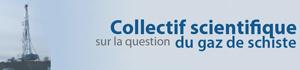 Logo Conseil scientifique gaz de schiste