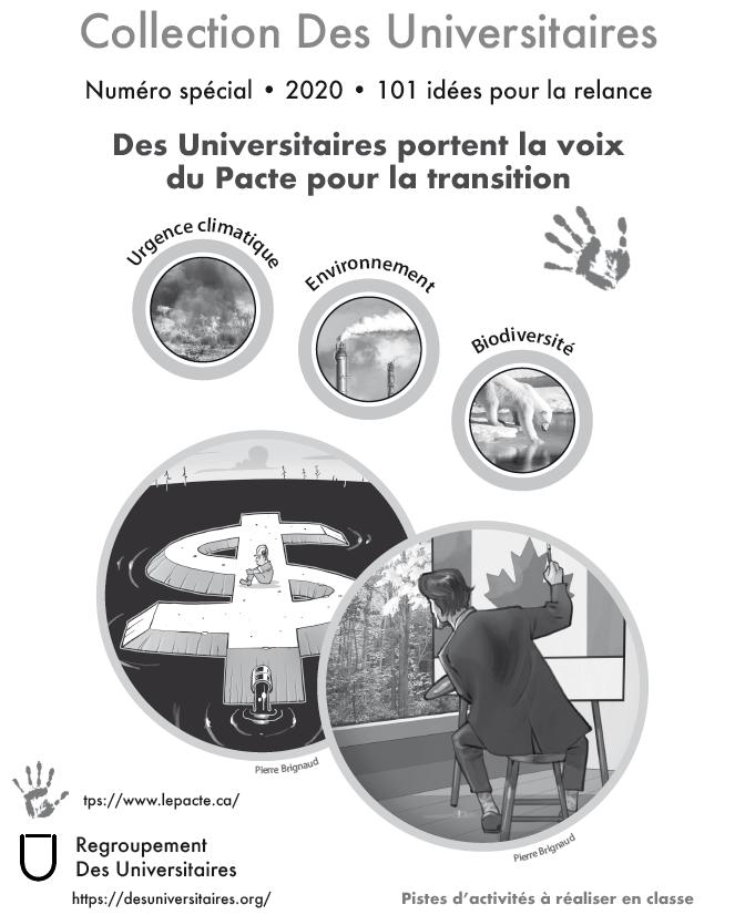 Collection DU Tome 1 - Cahier spécial 101 idées Le Pacte Noir et blanc
