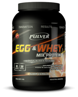 PULVER Egg/Whey Mix (1000/2000 Grs) Vainilla
