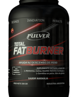 PULVER Fat Burner Total (200 Grs) Naranja