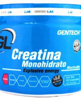GENTECH CREATINA MONOHIDRATO MASTICABLE