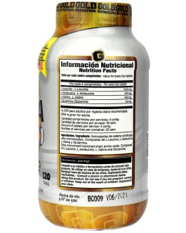 Bcaa 2000 GOLD NUTRITION (120 Comp)