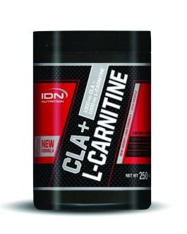 IDN Carnitina + CLA (250 Grs)