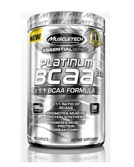 BCAA Platinum MUSCLETECH (200 Caps)