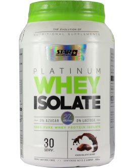 Platinum Whey Isolate STAR NUTRITION (2 Lbs)