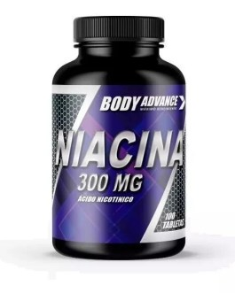 Niacina 300 BODY ADVANCE (100 Comp)