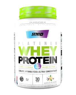 Proteina STAR NUTRITION Platinum Whey Protein (909/3000 Grs)