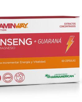 Ginseng + Guarana VITAMIN WAY (30 Comp)