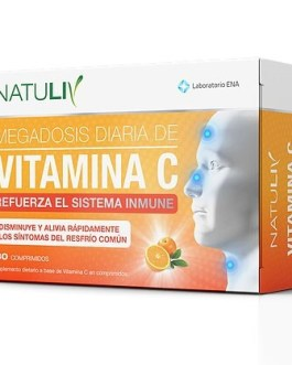 Vitamina C NATULIV ENA (30 Comp)