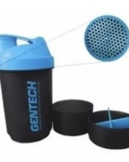 GENTECH Shaker Vasos Mezclador de Polvos Three Shaker / Blender (con resorte)