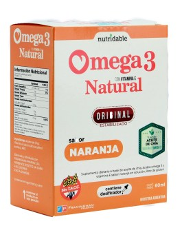 Omega 3 Natural Gotas (60 ML) FRAMINGHAM PHARMA