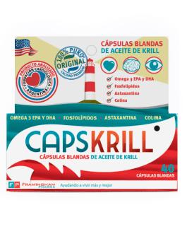 CapsKrill Omega 3 Aceite de Krill (24 Softgel) FRAMINGHAM PHARMA