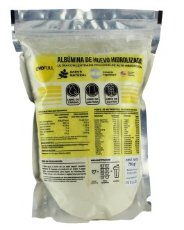 Albumina Hidrolizada de Huevo (750 Grs)