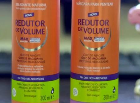 Máscara de pentear e Gel Redutor de volume Capicilin