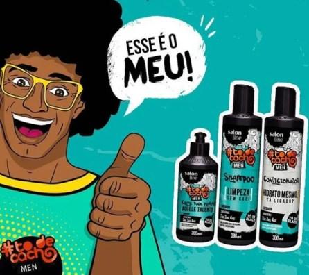 Cuidados básicos com cabelo Crespo/Cacheado masculino