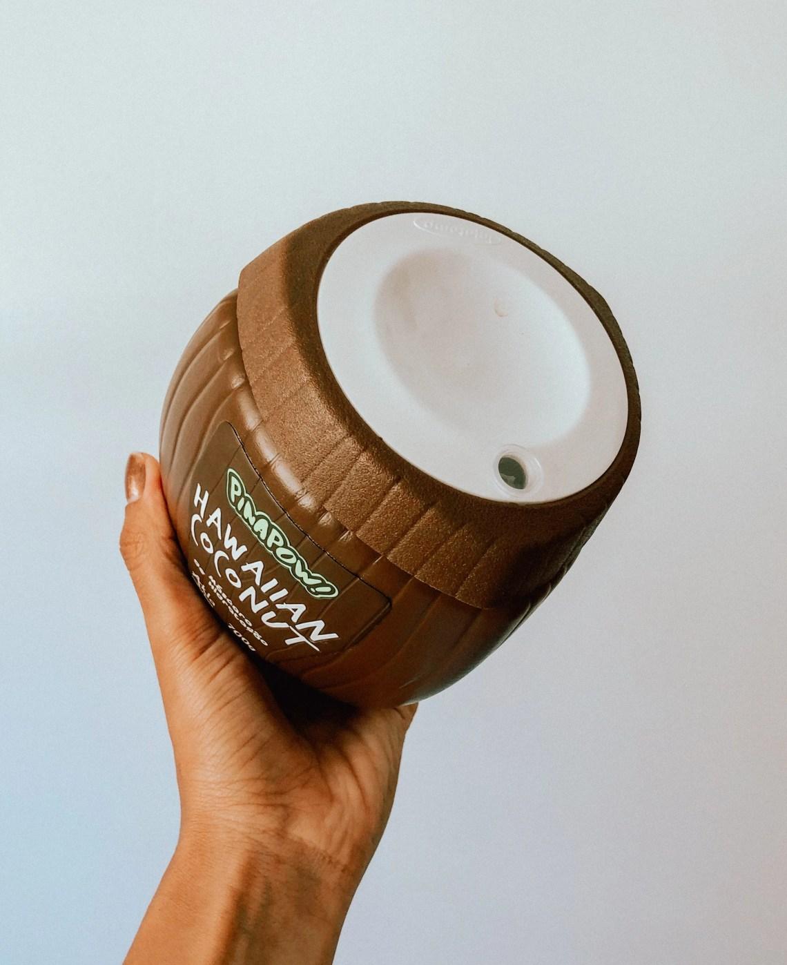 Máscara Hawaiian Coconut da Pinapow | Resenha