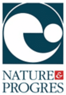 label bio logo nature & progres