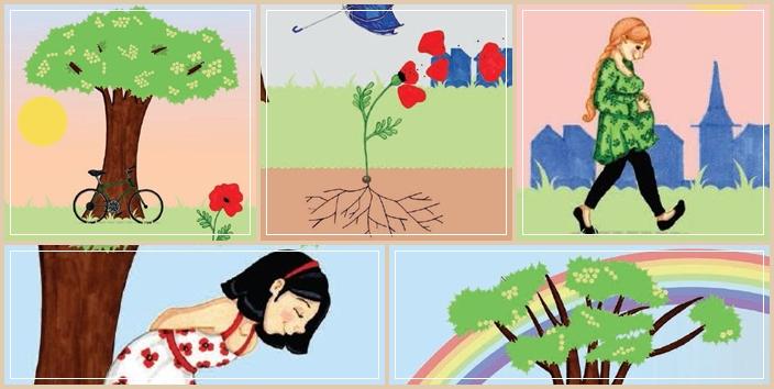 La fleur et les saisons