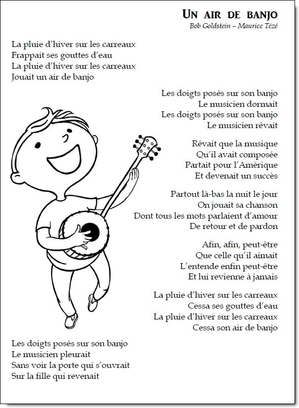Chant – Un air de banjo