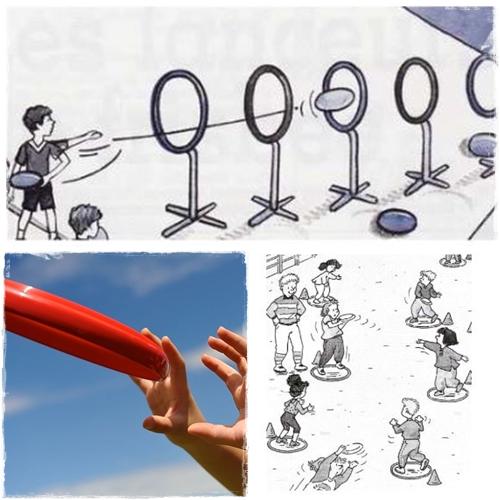 Lancers : manipulation du frisbee – Approche de l'ultimate – CE1/CE2