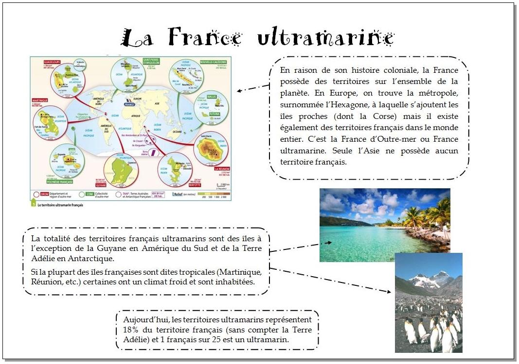 La France d'Outre-mer ou France ultramarine