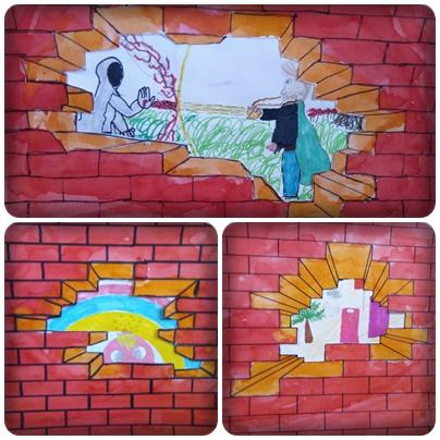 Le Mur En Arts Visuels Cm1 Cm2
