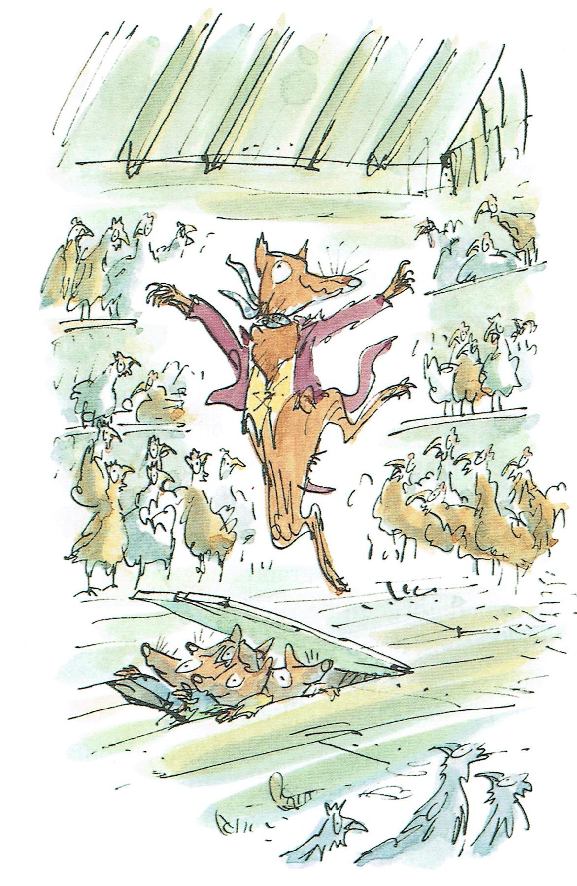 Fantastique Maître Renard de Roald Dahl – CM1/CM2