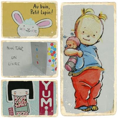 Les livres préférés d'une petite demoiselle de 2 ans (à peine)