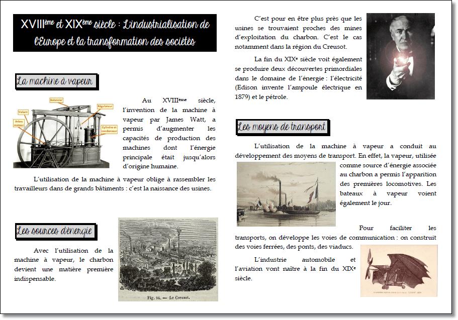 Traces écrites d'histoire – CM1/CM2