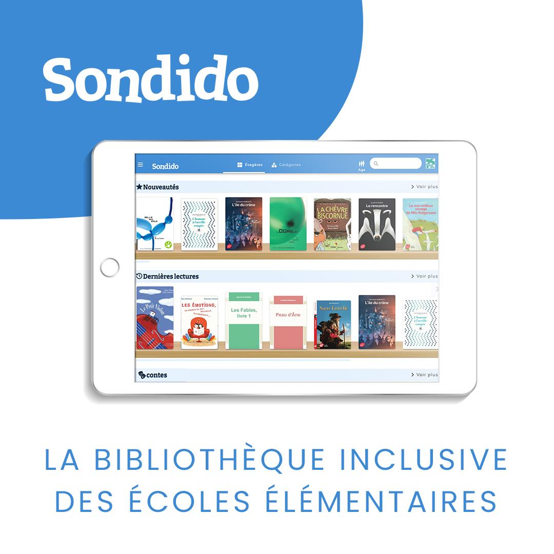 SONDiDO | MOBiDYS L'outil de lecture inclusif