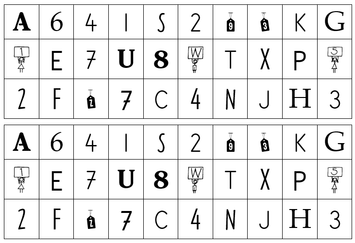 Trier des lettres et des chiffres – GS