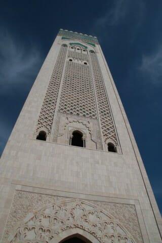 Minaret de la Mosquée Hassan 2 - Casablanca