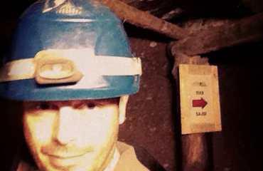 Pyramides de Bosnie, moi dans les tunnels de Ravna