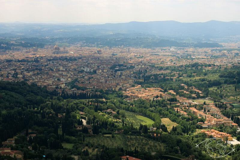 Bons plans pour visiter Florence autrement - Vue du village de Fiesole