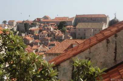 Dubrovnik - Vue de l auberge