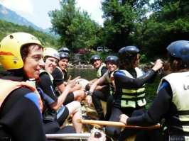 Photo de la rivière Tara au Montenegro - Equipe