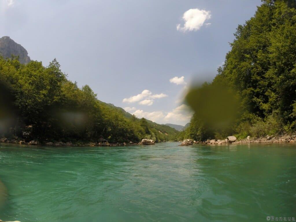 Photo de la rivière Tara au Montenegro