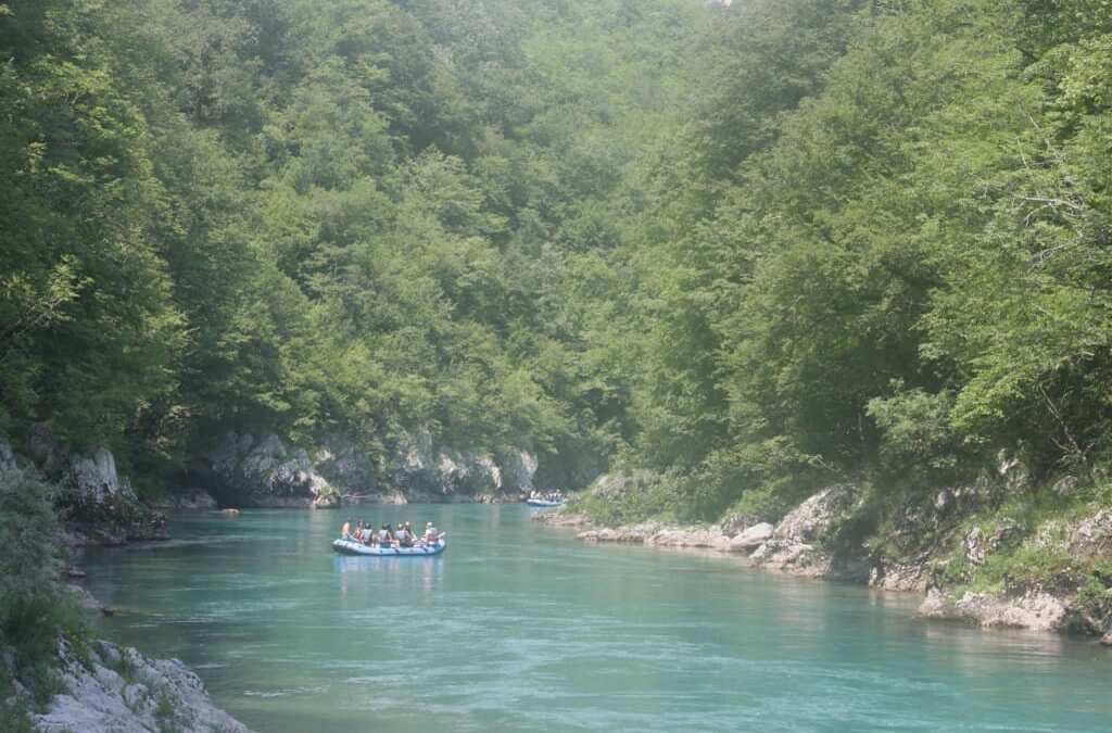 Faire du Rafting au Monténégro : Rivière Tara